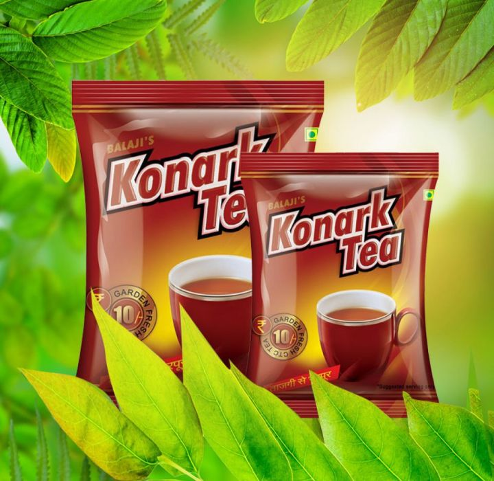 KONARK TEA 5Rs.